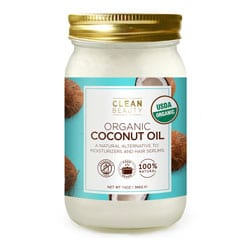 CLEAN BEAUTY | Organic Coconut Oil, 14oz.