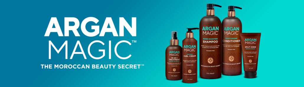 Argan Magic Family Shot of best selling products