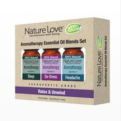 NATURE LOVE | Essential Oil Blend - Blend Set - Relax & Unwind