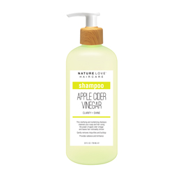 NATURE LOVE | Apple Cider Vinegar Shampoo - 25oz