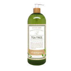NATURE LOVE | Tea Tree Shampoo - 33oz