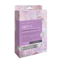 NATURE LOVE | FootSpa - Detoxifying Foot Pads - Lavender (10-Pack)