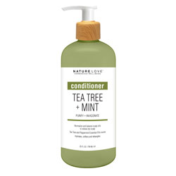NATURE LOVE | Tea Tree + Mint - Conditioner, 25oz