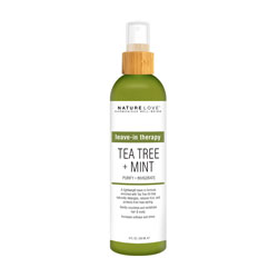 NATURE LOVE | Tea Tree + Mint - Leave In Spray, 8 oz