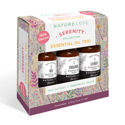 NATURE LOVE | Essential Oil Blend Trio - SERENITY
