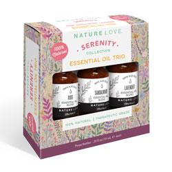NATURE LOVE | Essential Oil Blend Trio - SERENITY