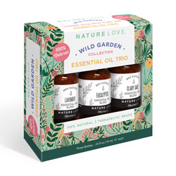 NATURE LOVE | Essential Oil Blend Trio - WILD GARDEN