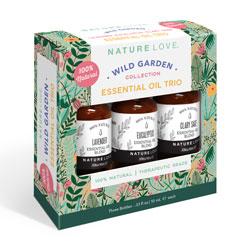 NATURE LOVE | Essential Oil Blend Trio - WILD GARDEN