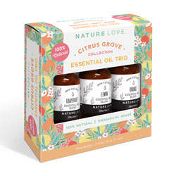NATURE LOVE | Essential Oil Blend Trio - CITRUS GROVE