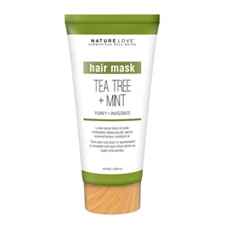 NATURE LOVE | Tea Tree Mint- Scalp Scrub 8 oz