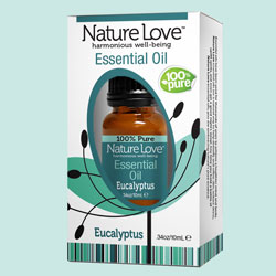 NATURE LOVE | Essential Oil | 100% Pure Eucalyptus 10ml