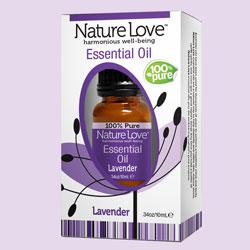 NATURE LOVE | Essential Oil | 100% Pure Lavender 10ml