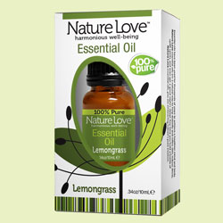 NATURE LOVE | Essential Oil | 100% Pure Lemongrass 10ml