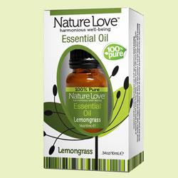 NATURE LOVE | Essential Oil | 100% Pure Lemongrass 10ml