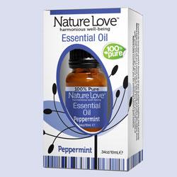 NATURE LOVE | Essential Oil | 100% Pure Peppermint 10ml
