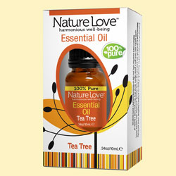 NATURE LOVE | Essential Oil | 100% Pure Tea Tree 10ml