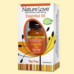 NATURE LOVE | Essential Oil | 100% Pure Tea Tree 10ml