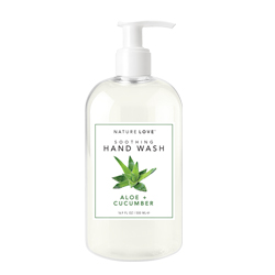 NATURE LOVE | Soothing Hand Wash - Aloe + Cucumber - 16.9oz