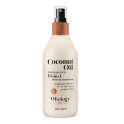 OLIOLOGY | Coconut Oil 10-in-1 Leave-In, 8.5 oz.