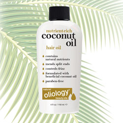 OLIOLOGY | Nutrient-Rich Coconut Oil Hair Oil - 4 oz.
