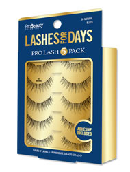 PRO BEAUTY ESSENTIALS | Lashes for Days - So Natural - 5 Pack