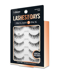 PRO BEAUTY ESSENTIALS | Lashes for Days - Glam Wispies - 5 Pack