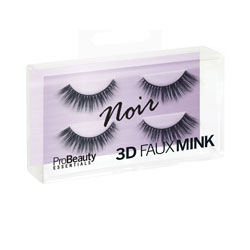 PRO BEAUTY ESSENTIALS | 3D Faux Mink Lashes / Noir