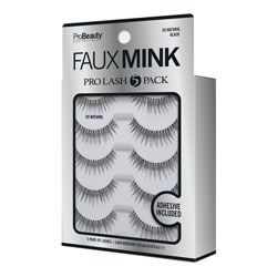PRO BEAUTY ESSENTIALS | Faux Mink Lashes Black / SoNatural - 5 Pack