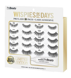 PRO BEAUTY ESSENTIALS | Wispies ProLash 10 Pack, Limited Edition