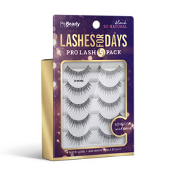PRO BEAUTY ESSENTIALS | Lashes for Days - Black - So Natural