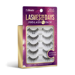 PRO BEAUTY ESSENTIALS | Lashes for Days - Black - Wispies
