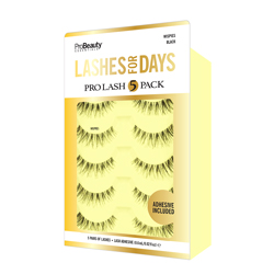 PRO BEAUTY ESSENTIALS | Lashes, Wispies Pro Lash - 5 Pack