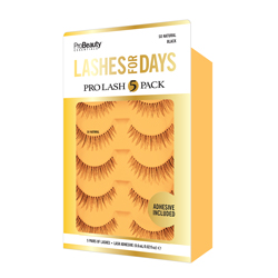 PRO BEAUTY ESSENTIALS | Lashes, So Natural Pro Lash - 5 Pack