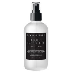PEARLESSENCE | Facial Mist, Aloe + Green Tea - 8oz