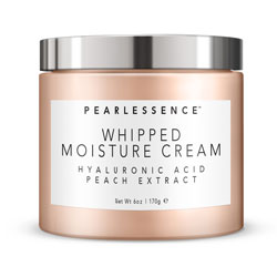 PEARLESSENCE | Whipped Moisture Cream - HYALURONIC / PEACH, 6oz