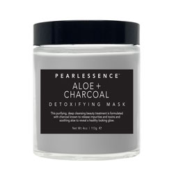 PEARLESSENCE | Detoxifying Mask, Aloe + Charcoal - 4oz