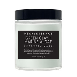PEARLESSENCE | Recovery Mask, Green Clay + Marine Algae - 4oz