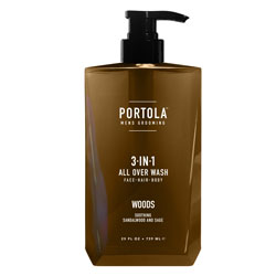 PORTOLA | 3-in-1 Wash, Woods, 25 oz.