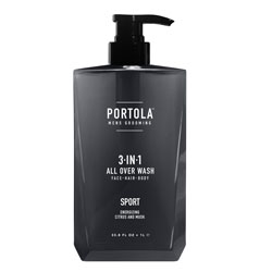PORTOLA | 3-in-1 Wash - SPORT, 33.8 oz.