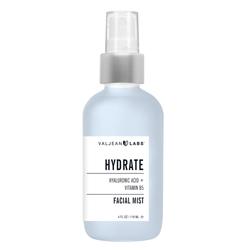 VALJEAN LABS | Facial Mist, Hydrate - 4 oz