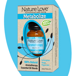 NATURE LOVE | Essential Oil Blend - 100% Natural - Metabolize 10ml