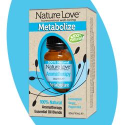 NATURE LOVE | Essential Oil Blend - 100% Natural - Metabolize 10ml
