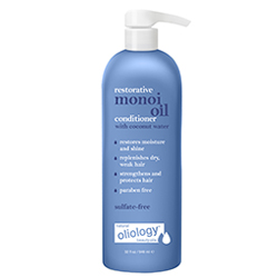 OLIOLOGY | Monoi Restorative Conditioner with coconut water -32 oz.
