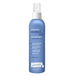 OLIOLOGY | Monoi Curl Refresher with coconut water- 8 oz