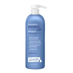OLIOLOGY | Monoi Restorative Shampoo with coconut water - 32 oz.