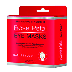 NATURE LOVE | Rose Petal Eye Mask- 5 pack