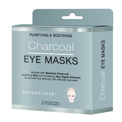 NATURE LOVE | Charcoal Eye Mask- 5 pack