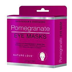 NATURE LOVE | Pomegranate Eye Mask- 5 pack