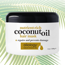OLIOLOGY | Nutrient-Rich Coconut Oil Hair Mask - 8 oz.
