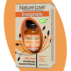 NATURE LOVE | Essential Oil Blend - 100% Natural - Invigorate 10ml